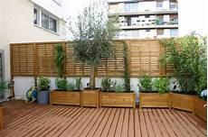 cl ture jardin bois solide occultation clotures bois