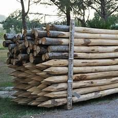 pali prezzo pali castagno scortecciati 216 8 10 per recinzioni palizzate