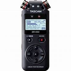 Tascam Stereo Handheld Digital Audio Recorder And Usb
