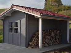 gartenhaus mit holzlager gartenhaus mit satteldach und schleppdach als holzlager 1 gsp blockhaus