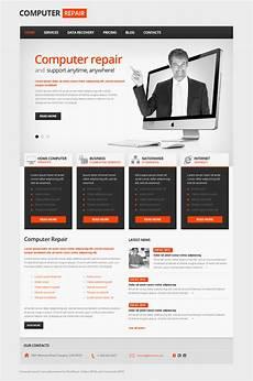 computer repair moto cms html template 41742