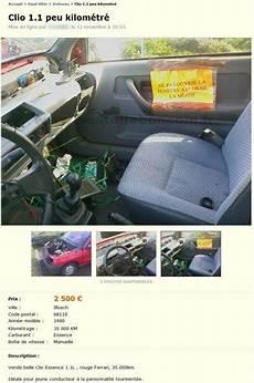 pire annonce leboncoin la pire annonce de voiture sur leboncoin image dr 244 le