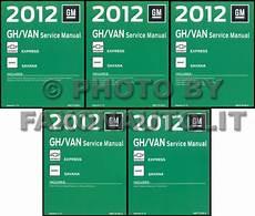 service manuals schematics 1999 chevrolet express 2500 on board diagnostic system 2012 express van savana repair shop manual 5 volume set original chevy gmc