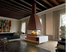 camini centrali rustici modern fireplace design by montegrappa
