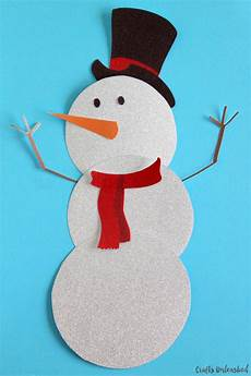 snowman template free printable crafts unleashed