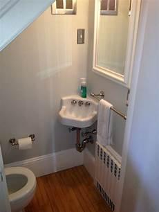 Bathroom Ideas Stairs by Half Bath Tucked Stairs Best Baths