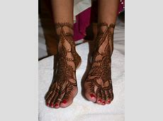 15 Best Eid Mehndi Design For Feet 2011   YusraBlog.com