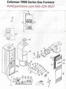7956 856 Coleman Gas Furnace Parts Page 2 Hvacpartstore