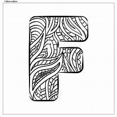 Ausmalbilder Buchstaben F Buchstabe Quot F Quot Zum Ausmalen Fertig Aufgespannt Canvasi