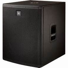pa powered subwoofers electro voice elx118p live x 18 quot powered pa subwoofer speaker
