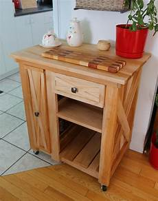 white modified version of the rustic small rolling kitchen island diy projects
