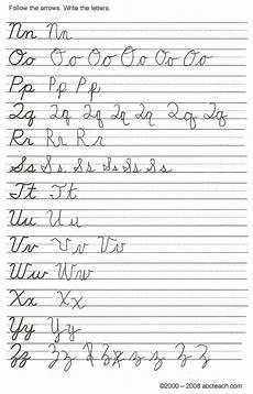Cursive Handwriting My With Nf2