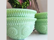1087 best Jadite Glassware images on Pinterest   Vintage