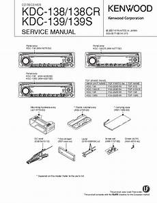kenwood kdc 138 cr 139 s sm service manual download schematics eeprom repair info for
