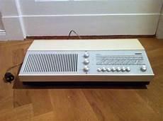 liebhaberst 220 ck wega receiver radio modell 142 in weiss