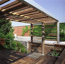 urban roof deck urban trellis roof deck modern deck new york by design studio