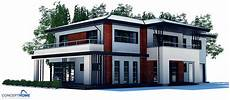 Modernes Einfamilienhaus Grundriss - large modern house plan with four bedrooms house plan