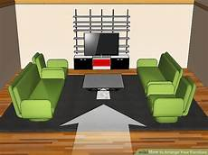sofa im raum stellen how to arrange your furniture with pictures wikihow