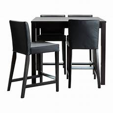 ikea table bar bjursta henriksdal bar table and 4 bar stools ikea