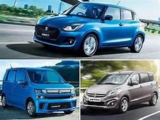 Maruti Suzuki To Launch Three New Cars In 2018