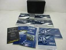 car repair manuals online free 2005 acura mdx security system 2005 acura mdx owners manual oem ebay