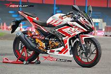 Modifikasi Striping All New Cbr150r by Modifikasi Striping All New Honda Cbr150r White Icon