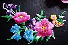 applique iron iron on applique flower ebay