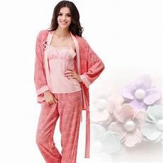 3pc womens pajamas set sleeve pajamas autumn