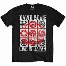 t shirt in david bowie live in japan t shirt