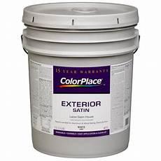 colorplace exterior satin paint white walmart com