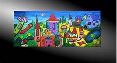 City Fantasies No 42 Moderne Malerei Moderne Malerei