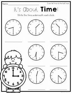 telling time by the hour worksheets for kindergarten 3602 telling time to the hour and half hour worksheets by natalie