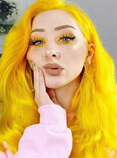 With Yellow Hair