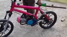 Motor Modif Sepeda Bmx by Keren Bodi Sepeda Mesin Motor