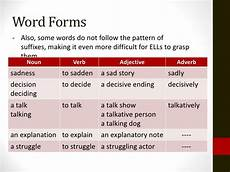 tdc 1 word forms