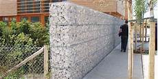 cloture en gabion mur de cloture gabions