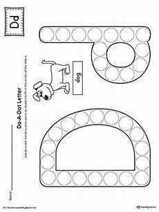 printable dotted letter worksheets 23751 letter d do a dot worksheet alphabet letters preschool letters letter d crafts letter d