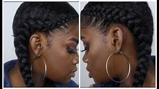 two braid tutorial with weave youtube
