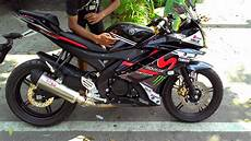 Yamaha R15 Modif by Modifikasi Yamaha R15 Terbaru Movistar New Merah Velg Jari
