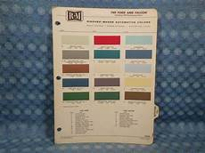 1960 ford car falcon original r m paint color chip chart in ebay motors ebay ford paint