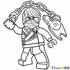 Lego Ninjago Ausmalbilder Cole How To Draw Cole Lego Ninjago Omalov 225 Nky Omalov 225 Nky