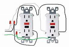 electrical how do i properly wire gfci outlets in parallel home improvement stack exchange