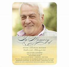 free template funeral cards 21 obituary card templates free printable word excel