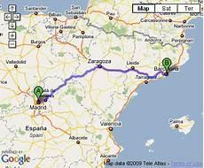 distance barcelone madrid voyager en