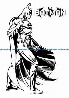 Batman Malvorlagen Free Batman Malvorlagen File Cdr And Dxf Free Vector