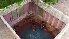 Build Underground Swimming Pool Underground House