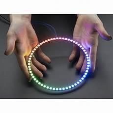 led ring adafruit neopixel 1 4 ring 15 rgb led or 1 4 of 60 led