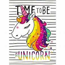 Emoji Malvorlagen Adalah A5 Flexi Time To Be A Unicorn Notebook Gifts For