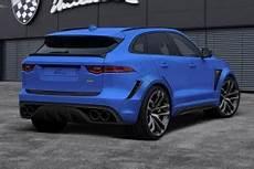 jaguar clr f lumma design makes the jaguar f pace a widebody cat