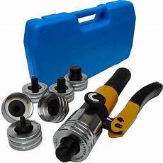 pince a emboiture hydraulique cuivre pouces